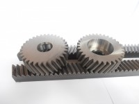 Helical gears and racks